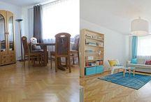 Przed i Po / Home Staging czyli szybka metamorfoza mieszkań