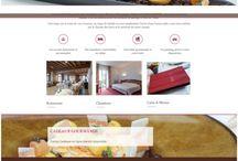 Webdesign Hostellerie / Gastronomie