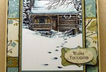 A Cabin Cards / by Beverley Berthold