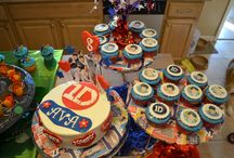 birthday parties: 1D / One Direction party inspiration board / by Amanda W