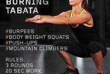 Tabata träning / Tabata träning