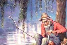 sommer jakt fiske