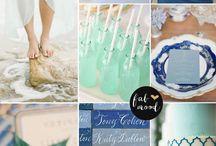 Summer wedding color palettes