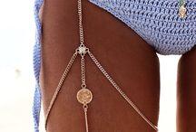 Body Jewelry / Necklaces, Chains, Body jewelry.