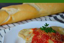 Vegan ravioli