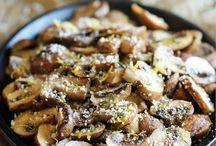 baked parmasan mushrooms