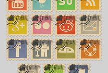 Social Media Fun / http://www.courageouslyfree.com