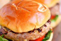 Burgers / A board filled with burger ideas and recipes