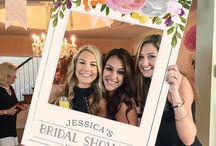 Crystal bridal shower
