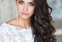 Образ невесты / Прическа макияж