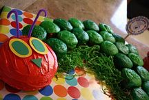 Party - Hungry Caterpillar / Hungry Caterpillar themed party ideas for Coralee's first birthday