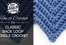 Crochet Stitches / by Rebecca Wasson
