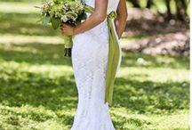 crochet wedding dresses / by Anja Harrington