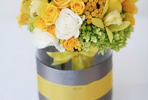 Vases for bridal table bouquets