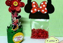 festa bimbi tema Minnie