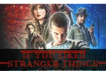 Stranger Things / The Netflix original series Stranger Things is smash hit with anyone who grew up in the eighties.  The books on this list may offer something to fans of the series who like stories of children facing of against the supernatural.  These books feature monsters, telepathy, and government secrets.  A few even even feature a retro setting.