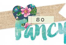 So Fancy / A sweet & sassy mix of berry, mint, teal and yellow with accents of navy mixed in, So Fancy is perfect for that girly girl in your life!  And with gold foil accents mixed in, well, what girl doesn't love THAT?!