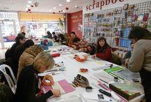 TALLERES EN PEQUEÑUS / Una muestra delos talleres que hacemos en la tienda
