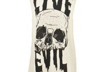 Evil Twin / Evil Twin is all about left of centre everyday wear with a dash of avant garde. Think grungy punk street styles with a dash of designer lines & glitzy, trashy 80s influences and you'd almost be there!  Evil Twin sits very well with our other rocker chic brands, Muubaa and Backstage Presents. Accessorise your Evil Twin outfit with a funky piece of jewellery from our nOir collection and you can rock it out all night long.                 Stand out from the crowd in Evil Twin.