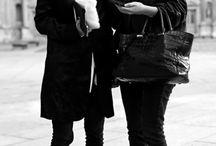STYLE ICONS // / style | icon | style icon | blogger | fashion | new york city | nyc | black dress | minimal style | black and white | booty | body | it girls | high fashion | runway
