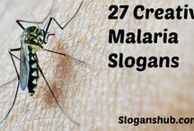 Malaria Slogans