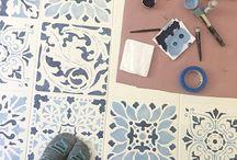 festett padló