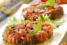Tartelette tomate confite