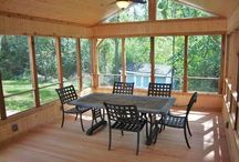 Sunrooms and Porches In Washtenaw County  / Dexter Builders will help you experience the great outdoors while enjoying the comforts of your home