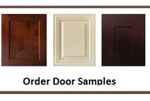 Cabinet Style Sample Doors / Check out our most popular cabinet styles...click on any one of them to order