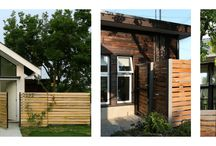 Lanefab: Magnolia Tree Laneway House / Old Magnolia Tree was the focal point for this project. The laneway/small house and garage designed and built around it. Shou Sugi Ban - Burnt Cedar Siding Technique used in this project.