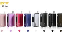 Aspire Plato all in one kit / The Plato features 2 juice ports for easy filling, draining and cleaning. With adjustable airflow and swappable battery versatility, it is also very easy to disassemble and clean. Plato can fire both sub ohm coils and nautilus coils to meet vapers' direct to lung or mouth to lung vaping needs, it also brings you tempreture control and normal wattage mode up to 50 watts.