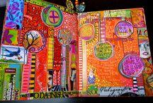 Journal art / by Rebecca Middleton