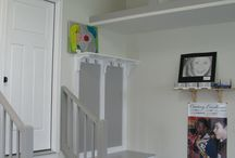Stairs/Garage