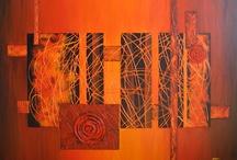 Schilderijen / Paintings / Cuadros / Just a new painting I maid. Zo juist een nieuw schilderij gemaakt.