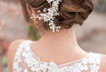 wedding / it's all about wedding. dress, detail, flowers, etc.