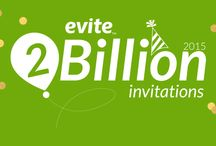 #Evite2Billion / Evite has surpassed 2 BILLION invitations sent! Celebrate with us all summer long.