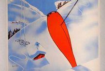 Ski & Montagne - Affiches Vintage