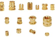 Brass Molding Inserts PPR Inserts / We are a leading Manufacturer & Exporter of Brass Molding Inserts PPR Inserts with high quality of raw material.
