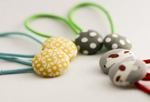 DIY Hair bands and hairpins / by Mes petits cahiers