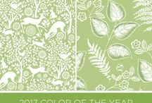 2017 Colour of the Year - Greenery.