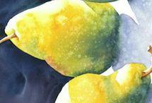 Peindre des fruits
