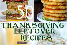 Recipe ~ Holiday leftover Recipe ideas / by Darcy Pinon