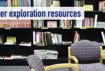 Career Resources In Our Library / Some of the resources available in the career resources library in the Students Services Building, room 3050.