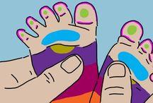 bébé réflexologie du pied