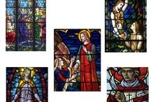 Stock Photos - Church Stained Glass Windows - Commercial Use / Stock Photos - Church Stained Glass Windows - Commercial Use. WELCOME to this STUNNING collection of Church Stained Glass Window Photo images.   This bundle contains 100 high-quality COLOR Church Stained Window Photo images. Images saved at 300dpi in PNG files.  ENJOY!!!