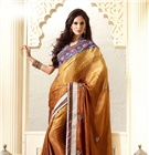 Stunning Designer Sarees / Dazzle with our new & fresh party wear collection beautified with heavy embroideries, laces & other works.....Check them out at http://www.sareesbazaar.com/New-Arrivals-221.html in our BUMPER FESTIVAL SALE @ 50% OFF........