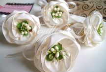 flower fabric accesories