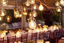 Wedding reception decor / Ideas for our wedding reception