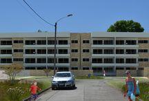 Edificio Las Encinas de Pilauco / Proyecto Edificio departamentos, Pilauco, Osorno 2757,5 m2 en hormigón armado
