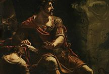 Brutus (one or the other) / The depictions of two characters from Roman history/tradition: the founder of the Republic and the conspirator against Caesar